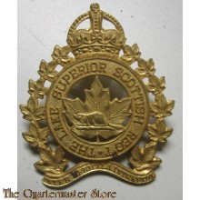 Cap badge  Lake Superior Scottish Regiment