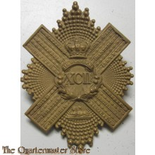 Belt plate XCII 92nd Gordon Highlanders 1881