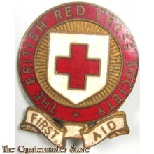 Mouse over image to zoom THE-BRITISH-RED-CROSS-SOCIETY-FIRST-AID-LARGE-ENAMEL-PIN-BADGE  THE-BRITISH-RED-CROSS-SOCIETY-FIRST-AID-LARGE-ENAMEL-PIN-BADGE Have one to sell? Sell it yourself THE BRITISH RED CROSS SOCIETY - FIRST AID -