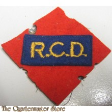 Shoulder patch 1st Canadian Corps Royal Canadian Dragoons