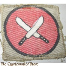 Sleeve badge  East Africa Command Printed Army Formation Patch WW2 - UK, British Army East Africa Command (canvas)