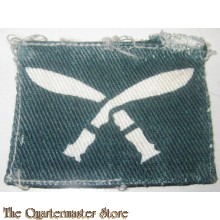 Shoulder patch Gurkha Regiment (canvas)
