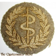 Qualification badge worn by regimental medical assistants.