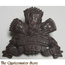 Special Service Battalion (South Africa) 1933-1953 Blackened Other Ranks' metal cap badge