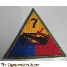 Mouwembleem 7e Armored Division (sleeve badge 7th Armored Division)