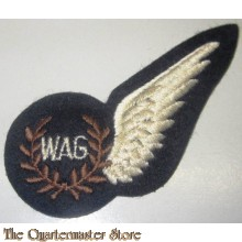 Royal Air Force Air Cew qualification wings for Wireless Operator Air Gunner