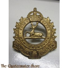 Cap badge North Shore (New Brunswick) Regiment