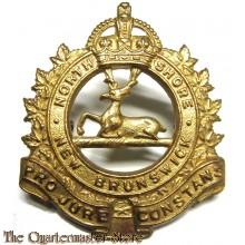 Cap badge North Shore (New Brunswick) Regiment 5th Canadian Division