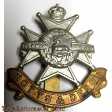 Cap badge the Sherwood Foresters