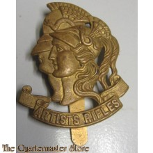 The Artists Rifles is a special forces regiment of the British Army Reserve. Raised in London in 1859 as a volunteer light infantry unit, the regiment saw active service during the Boer Wars and World War I, earning a number of battle honours. It did not