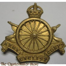 Cap badge Army Cyclist Corps