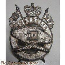 Cap badge 1st Armoured Regiment (Australia) post 1949