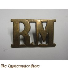 Shoulder title Royal Marines (RM)