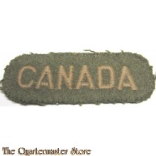 Shoulder flash CANADA (rounded)