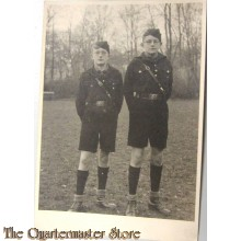 Foto Deutsches Jungvolk in Uniform (Photo German Jungvolk in Uniform)