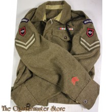 Battle Dress jacket Corporal Royal Corps of Signals 1st Guards Armoured Division