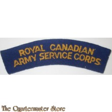 Shoulder title Royal Canadian Army Ordnance Corps RCAOC