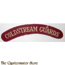 Shoulder title Coldstream Guards