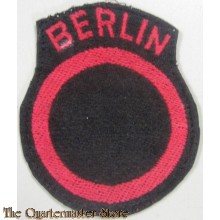 Sleeve patch British Troops Berlin
