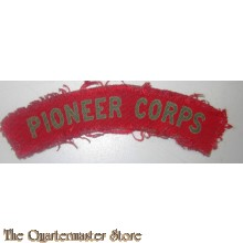 Royal Pioneer Corps (canvas)