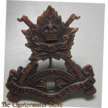 Cap badge Fusliers de St Laurens