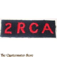 Straatnaam 2 RCA