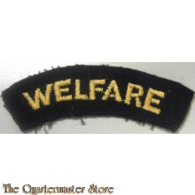 View larger Welfare (Shoulder Title) Yellow On Dark Blue Embroidered Civil Defence