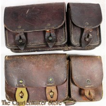 French WW2 M35 pair of Cartridge pouches
