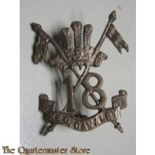 Cap badge 18TH King Edward's own cavalry