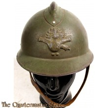 French Adrian Artillery M1926 helmet (british made)