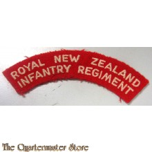 Shoulder title Royal New Zealand Infantry Regiment