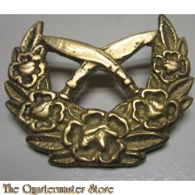 Cap badge Nepal Army Officer