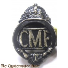 Lapel Badge CMF (Citizen Military Forces) - 1948 to 1953