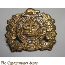 Cap badge The Lake Superior Regiment 4th Canadian Division