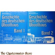 Geschichte des deutschen U-Bootbaus Band 1 und 2  (komplett)