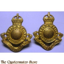 Collar badges Lincoln and Welland Regiment