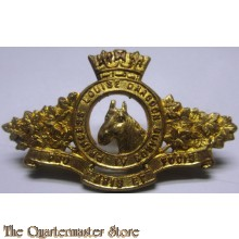 Collar badge Princess Louise's Dragoon Guards