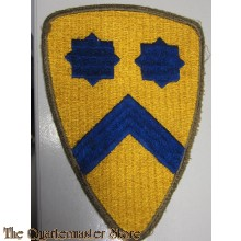 Mouwembleem 2nd Cavalry Division (Sleeve patch 2nd Cavalry Division)