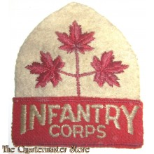 Formation patch Canadian Infantry Corps with Title 1944