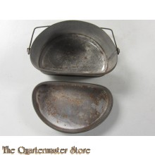 WW1 British & Canadian D-shape Mess Tin (Dixie)