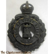 Cap badge 1/8th Bn. Hampshire Regiment ( The Isle of Wight Rifles) WW1