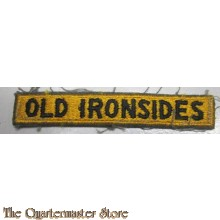 1st Division tab Old Ironsides