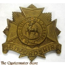 Cap badge Bedfordshire Regiment (c. 1914–1918)