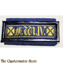 Rare and very hard to find old Prussian military GOOD CONDUCT ribbon bar with original silk ribbon and bronze pin intact. Prussian King Frederick William IV era (initials F. W. IV on the front); King William IV ruled from 1840 to 1861 era.