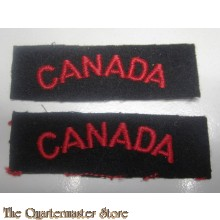 Shoulder titles Royal Canadian Navy
