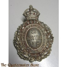 Cap badge 8th Scottish Volunteer Battalion VB King's Liverpool Regiment