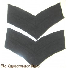 WW2 Canadian Royal Wiinipeg / Regine Rifles Corporal Rank Stripes