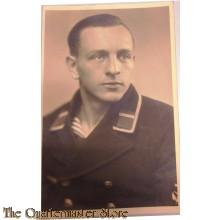 Studio portrait Kriegsmarine Maat