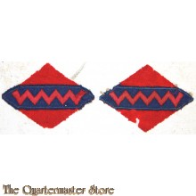 Formation patch 1st and 2nd Canadian AGRA RCA 2nd Canadian Corps