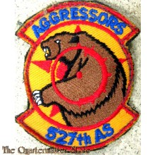 Badge USAF US Air Force 527th AS Aggressors